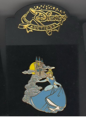 Cinderella & Prince Home Sweet Home Authentic Disney Auction pin on Card LE 500
