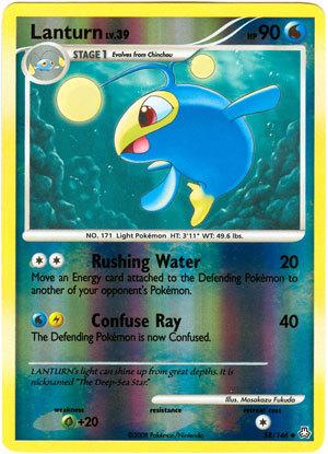 Lanturn 58/146 Reverse Holo Uncommon Legends Awakened Pokemon Card