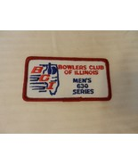 Bowlers Club of Illinois Men's 630 Series Patch from the 90s Red Border - $7.43