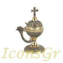 Christian Orthodox Greek Censer (8124-b/1) [Kitchen] - $48.80