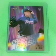 Mlb Kolby Allard Atlanta Braves 2019 Topps Chrome Rookie Refractor Mint - $1.79