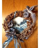 Collectible Hand Painted Winter Blues Mill Sawb... - $12.50