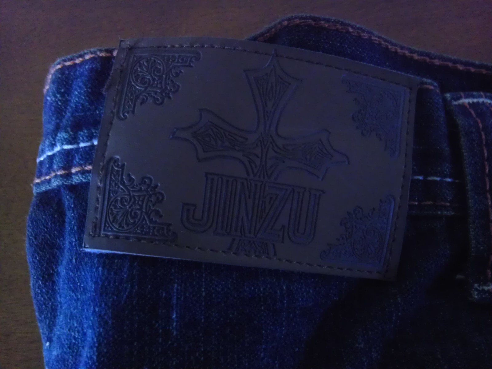 JINZU Jeans Company men's urban hip hop denim W34 L32