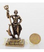 Ancient Greek Zamac Miniature Statue of Poseidon (Gold) [Kitchen] - $12.64