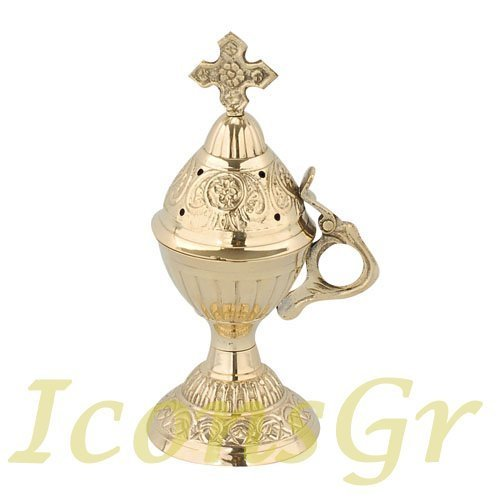 Christian Orthodox Greek Censer (9591-b) [Kitchen]