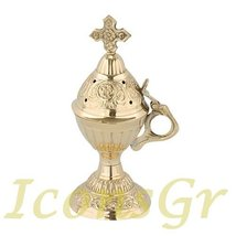 Christian Orthodox Greek Censer (9591-b) [Kitchen] - $41.75