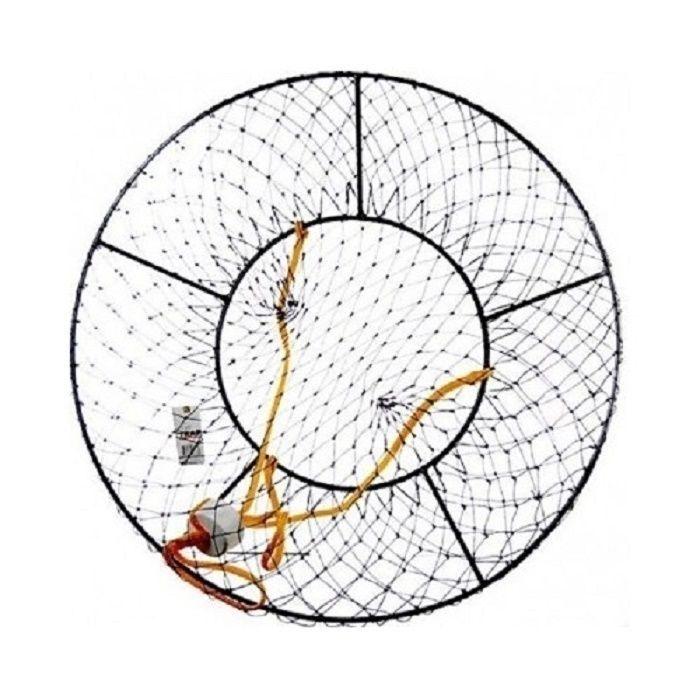 Fishing Crab Bait Pot Net Harness Trap Float Supplies 34-Inch Diameter Sporting