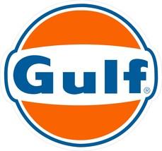 "Gulf Gasoline 25.5"" Baked Enamel Metal Sign Retro Vintage Repro Garage Art - €98,01 EUR"