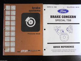 Brake Concerns TSB98-5A, Ford Brake Systems, 2 ... - $7.67