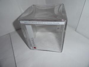 Dunhill Heavy Glass Square Desk Holder