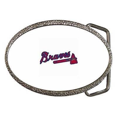 Atlanta Braves Belt Buckle - MLB Baseball