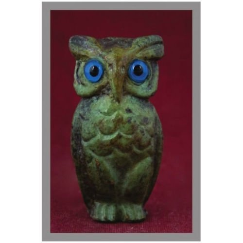 Ancient Greek Bronze Museum Statue Replica of Owl (1531) [Kitchen]