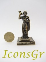 Ancient Greek Zamac Miniature Statue of Zeus (1332) [Kitchen] - $12.64