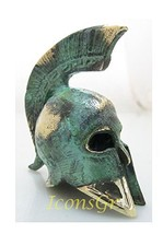 Ancient Greek Bronze Museum Replica of Spartan Officer Helmet (387) [Kit... - $24.01