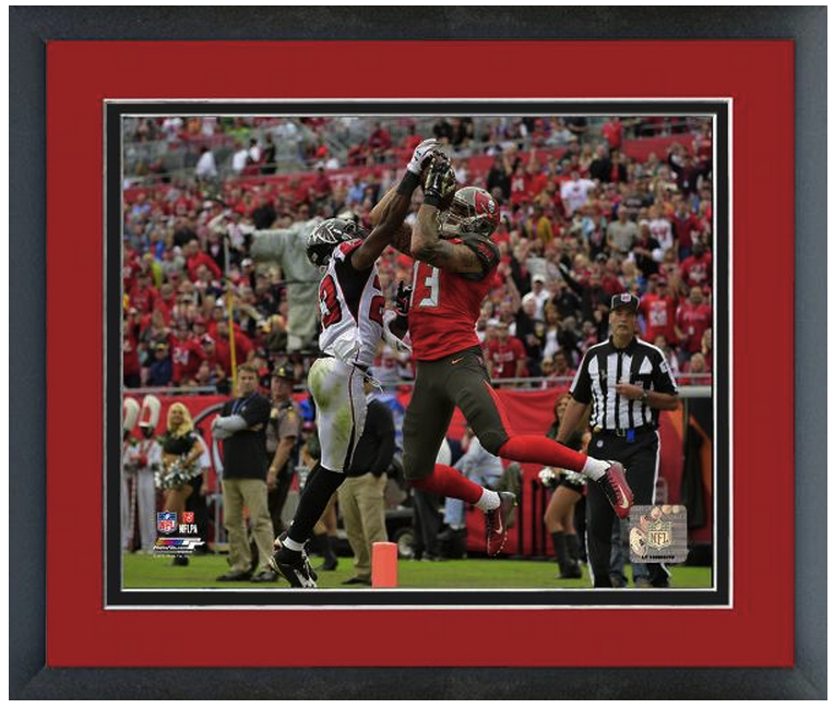 Mike Evans 2014 Tampa Bay Buccineers - 11 x14 Matted/Framed Photo