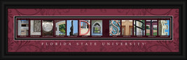 Florida State University Officially Licensed Framed Letter Art  - $39.95