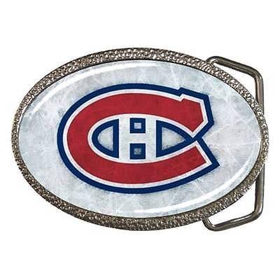 Montreal Canadian Zinc Belt Buckle - NHL Hockey