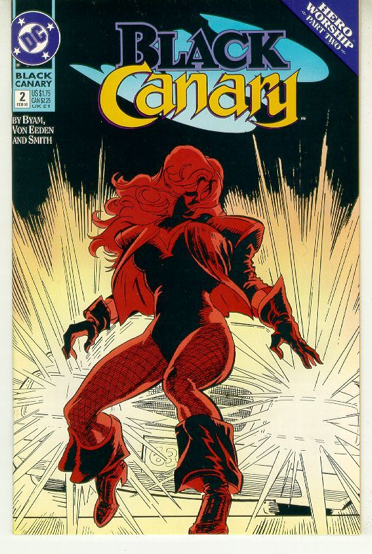 BLACK CANARY #2 (1993 Series) NM!
