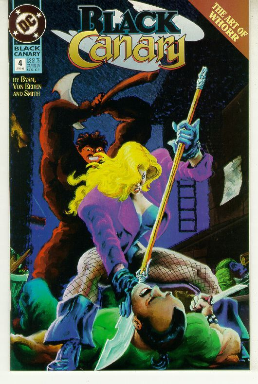 BLACK CANARY #4 (1993 Series) NM!
