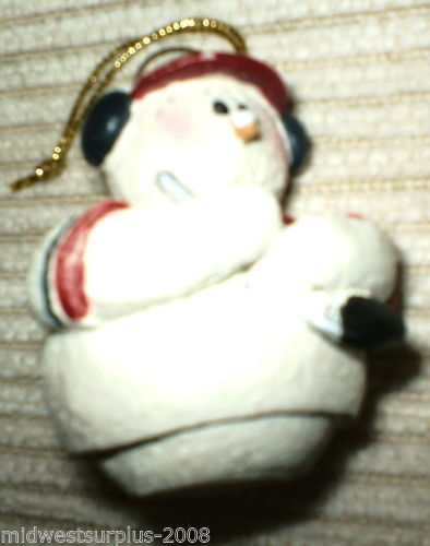 "Snowberry "" USA Hockey Player ""  Ornament"