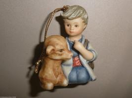 Goebel Berta Hummel Boy with Calf Nativity Ornament #935086 - $14.85
