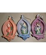 Bradford Edition 5th Issue Secret Garden Heirloom Porcelain Ornaments (3... - $24.75