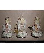 Bradford Edition 6th Issue Guiding Light Heirloom Porcelain Ornaments (3... - $24.75