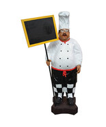 Restaurant Kitchen Chef with Menu Board Signs/Decor,63''tall! - $725.00
