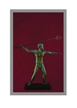 Ancient Greek Bronze Museum Statue Replica of P... - $97.51