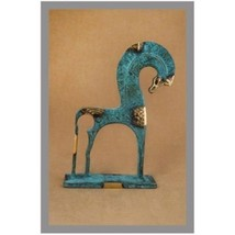 Ancient Greek Bronze Museum Statue Replica of Horse From Geometric Era (180) - $72.81