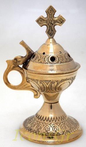 Christian Orthodox Greek Censer (4886b) [Home]