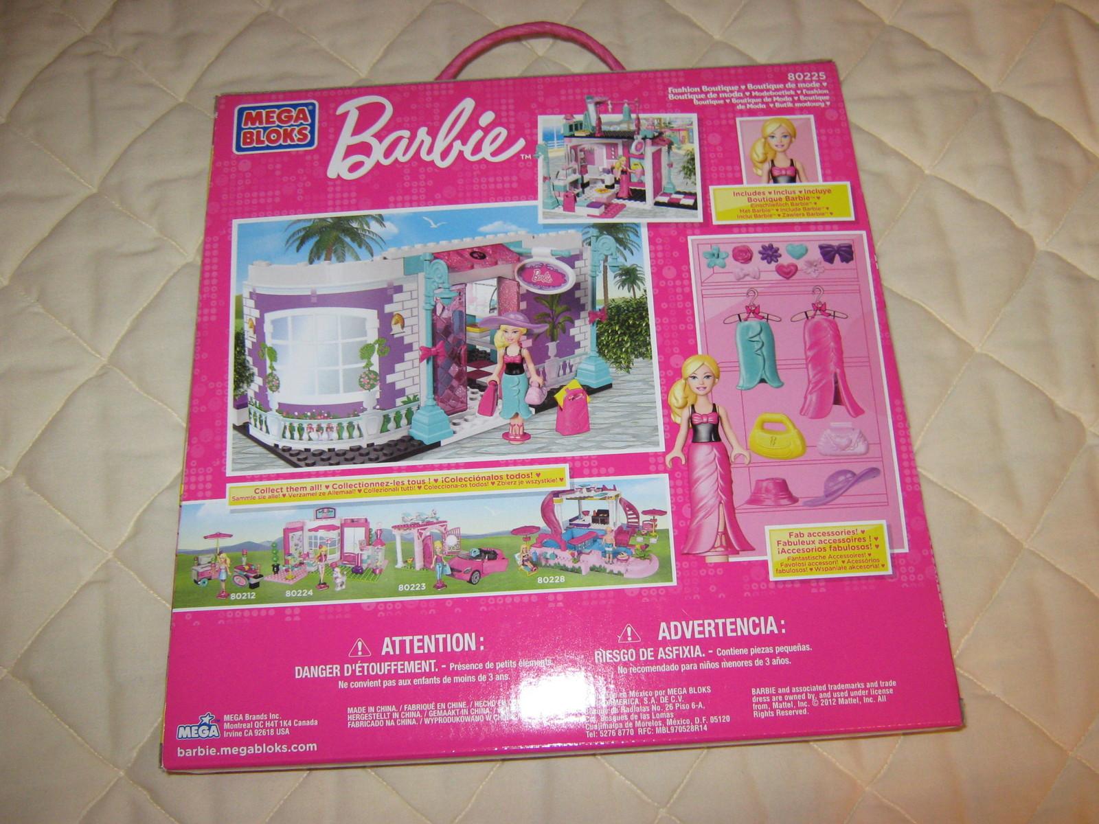 "Barbie ""Build & Style"" #80225"