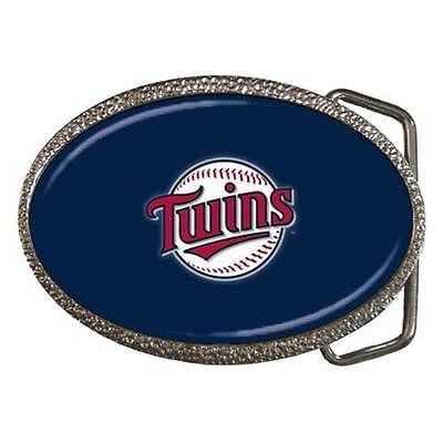 Minnesota Twins Belt Buckle - MLB Baseball