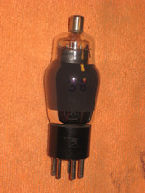 Vintage Radio Vacuum Tube (one): Type 38 - Tested Good - $3.39