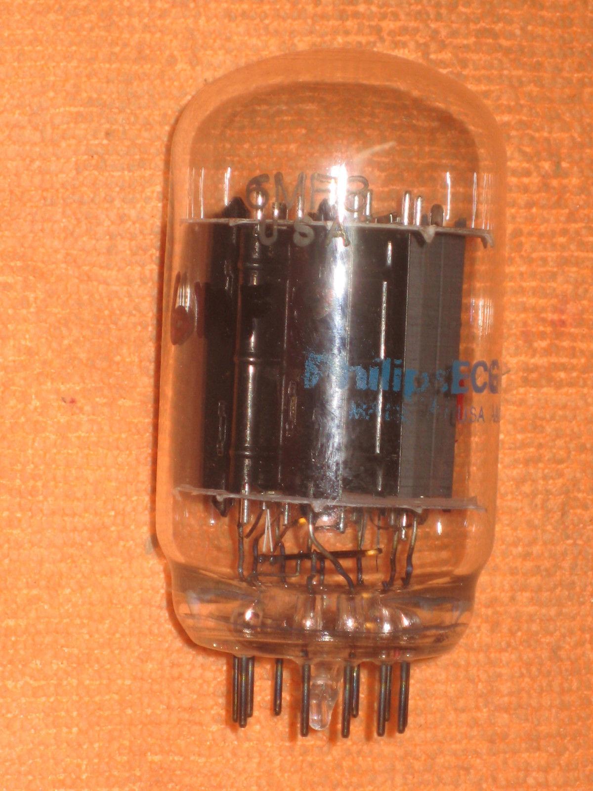 Vintage Radio Vacuum Tube (one): 6MF8 - Tested Good