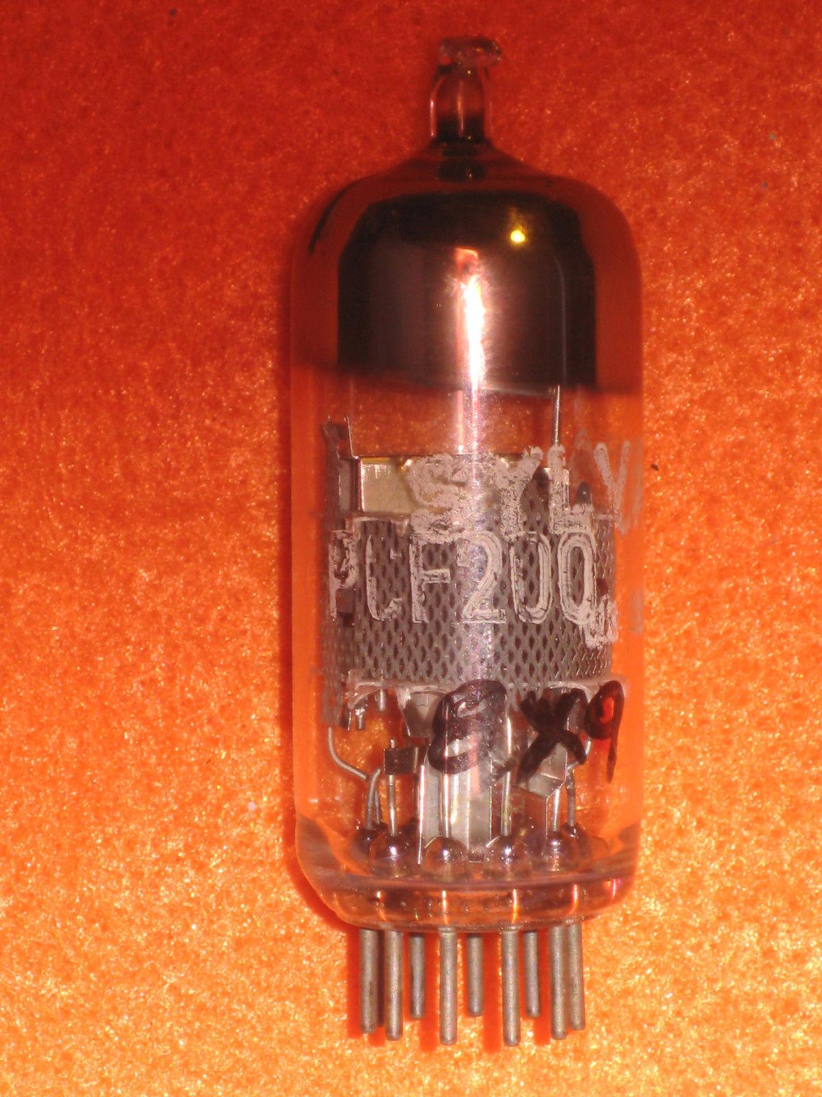 Vintage Radio Vacuum Tube (one): PCF200 - Tested Good