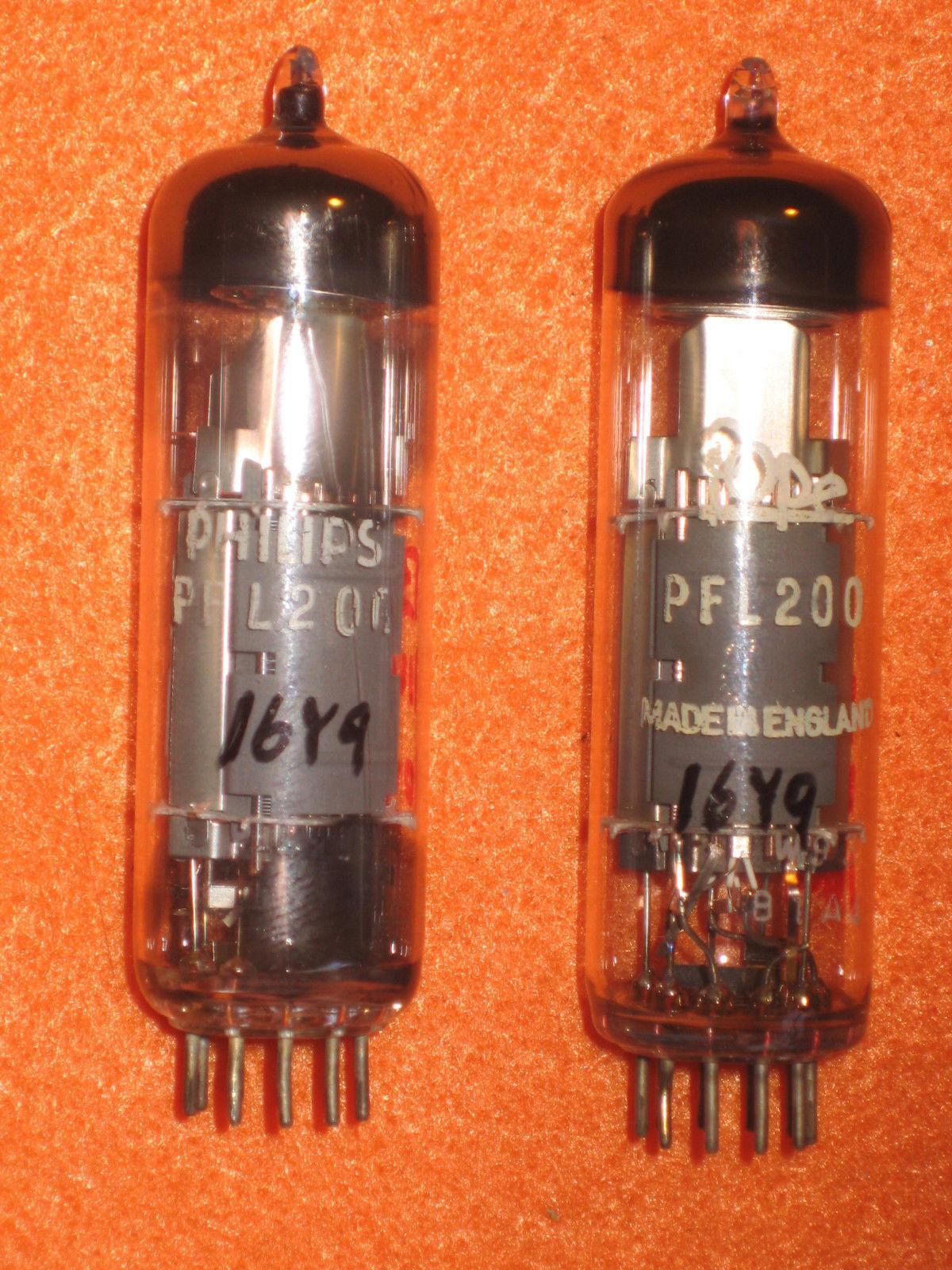 Vintage Radio Vacuum Tube (one): PFL200 - Tested Good
