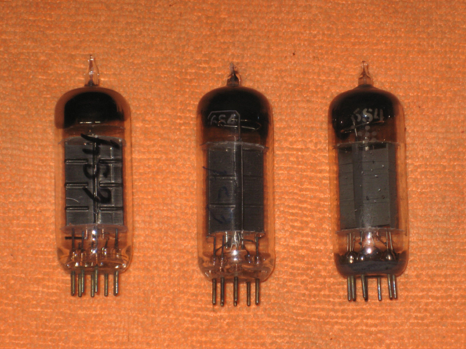 Vintage Radio Vacuum Tube (one): 6S4 - Tested Good