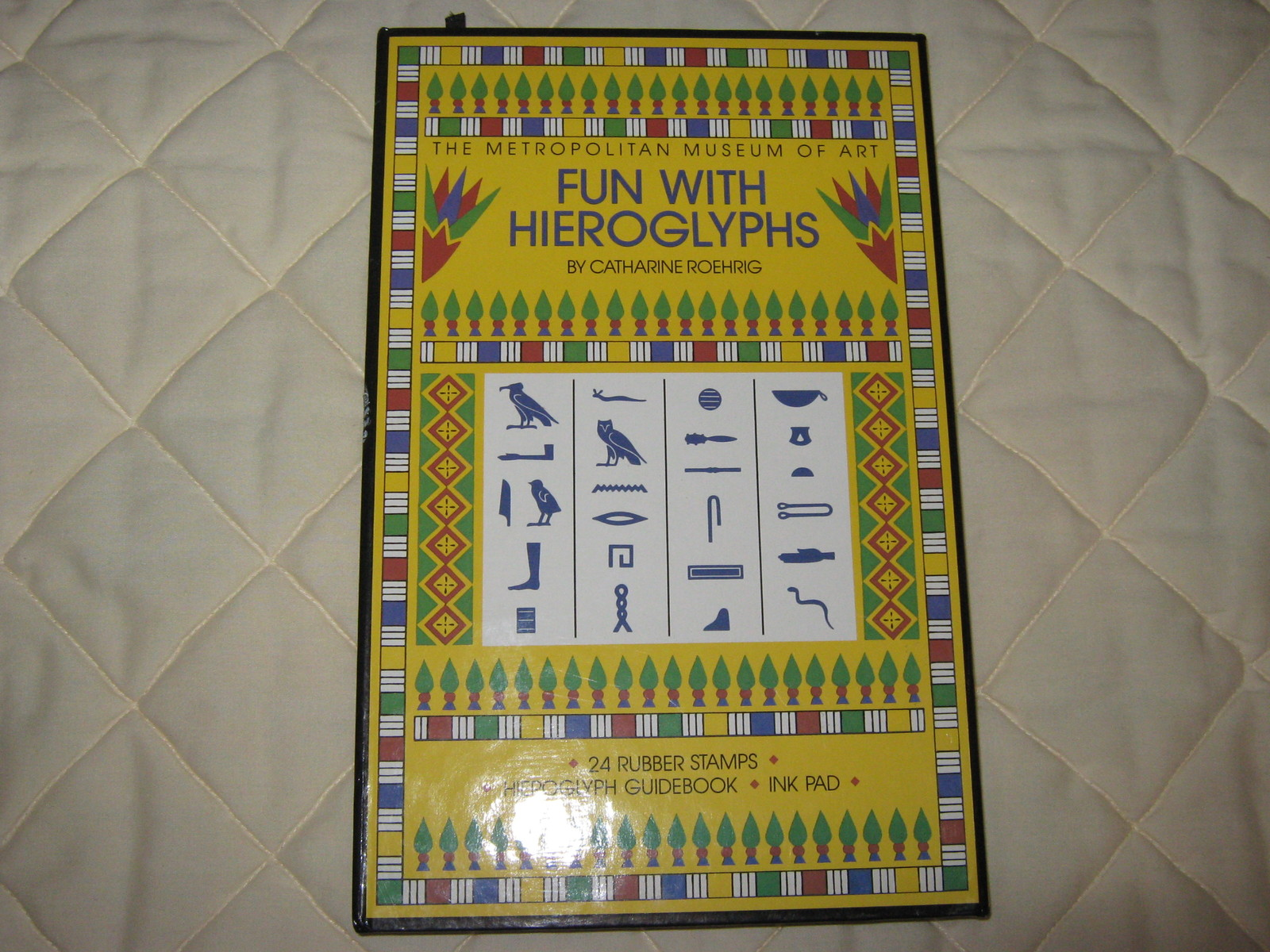 "Metropolitan Museum of Art ""Fun with Hieroglyphs"" set"