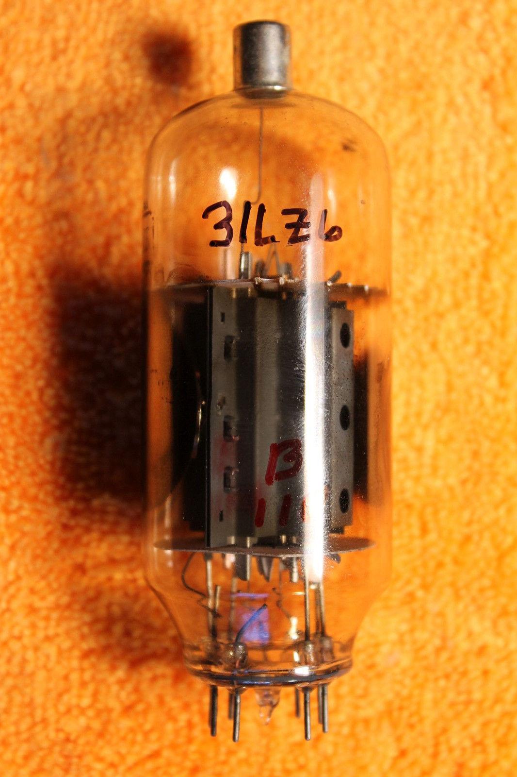 Vintage Radio Vacuum Tube (one): 31LZ6 - Tested Good