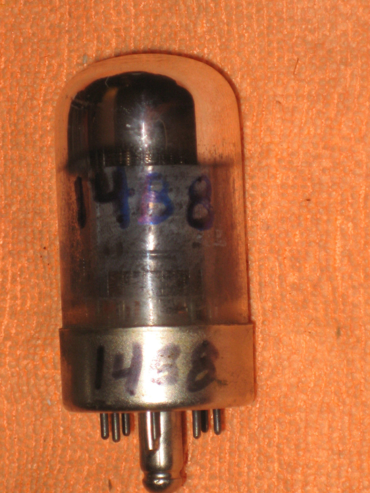 Vintage Radio Vacuum Tube (one): 14B8 - Tested Good