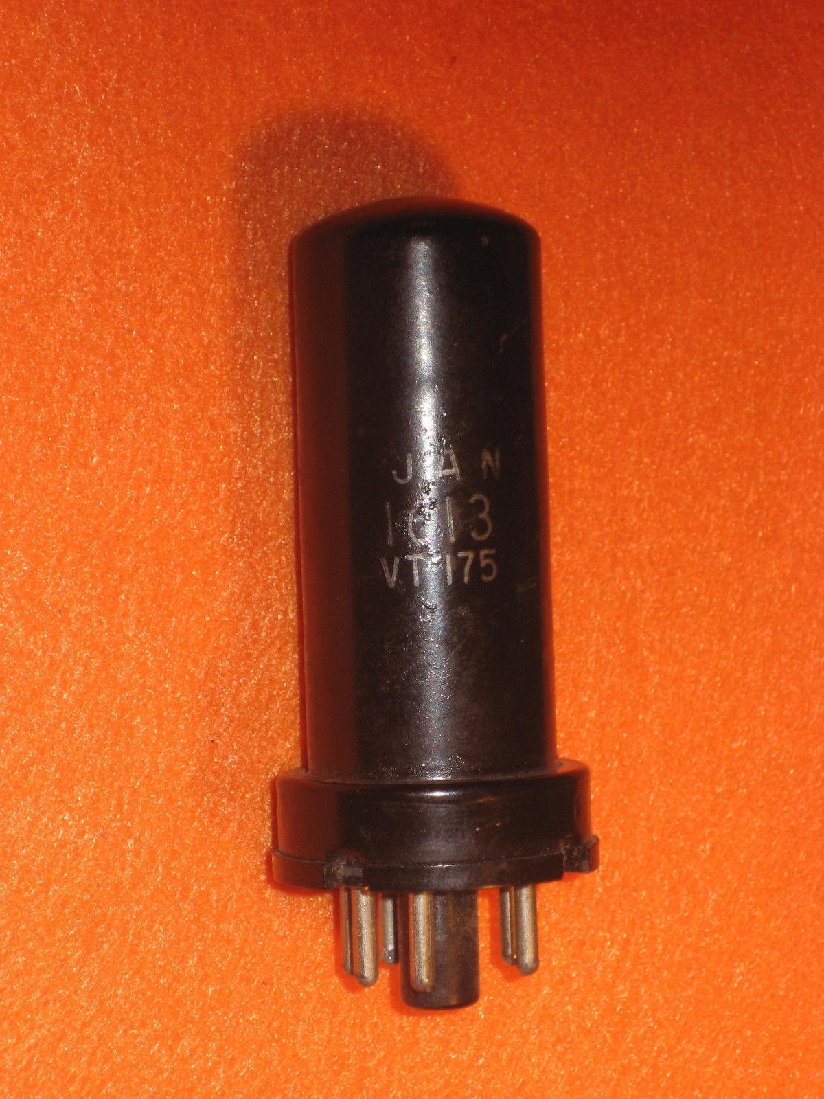 Vintage Radio Vacuum Tube (one): 1613 / VT-175 Metal - Tested Good