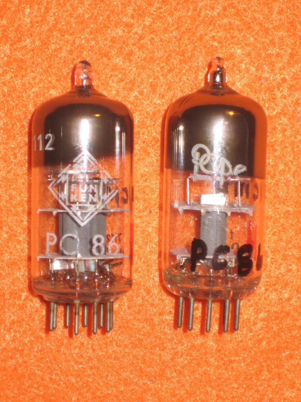 Vintage Radio Vacuum Tube (one): PC86 - Tested Good