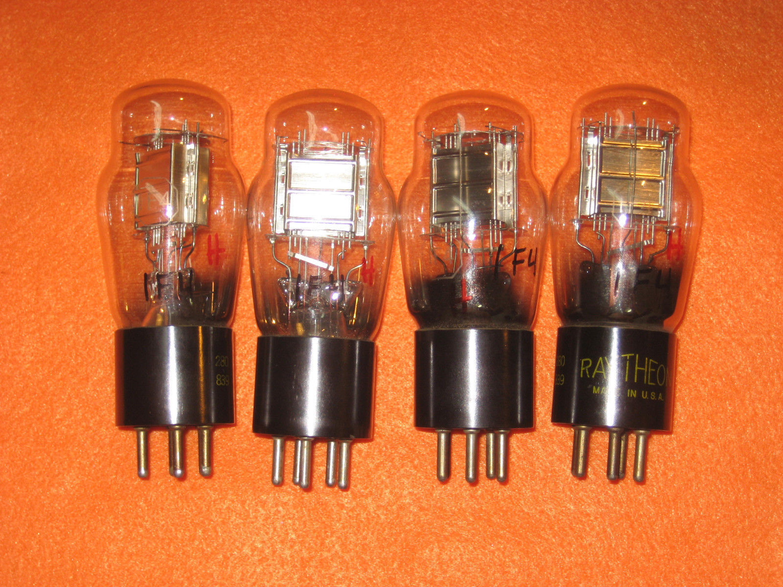 Vintage Radio Vacuum Tube (one): 1F4 - Tested Good