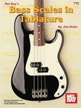 Bass Scales In Tablature/Book  - $9.95