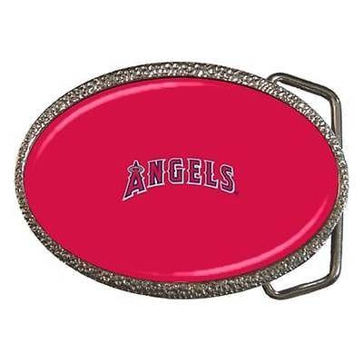La Angels Of Anaheim Belt Buckle - MLB Baseball