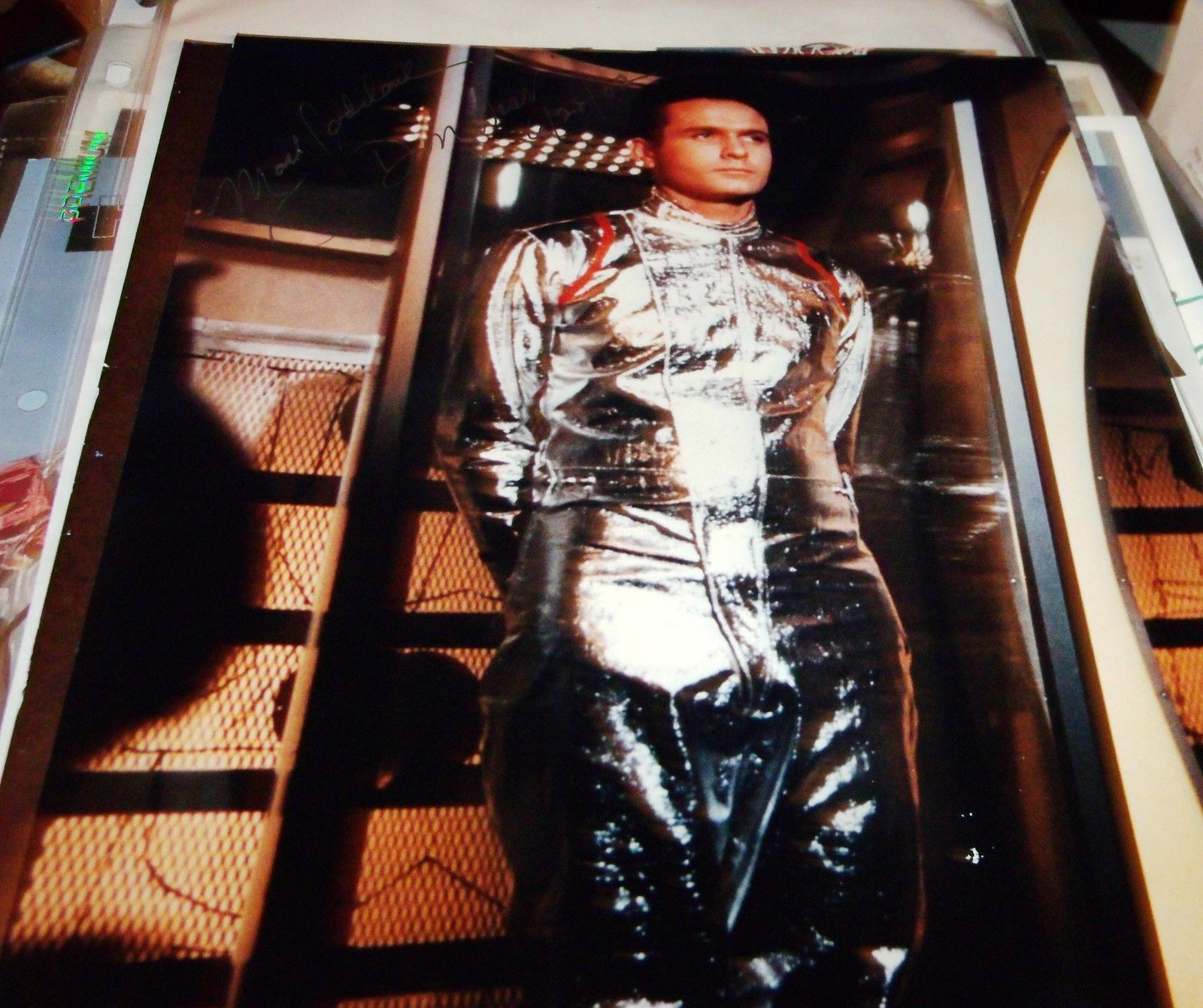HAND SIGNED 8X10 PHOTO MARK GODDARD LOST IN SPACE
