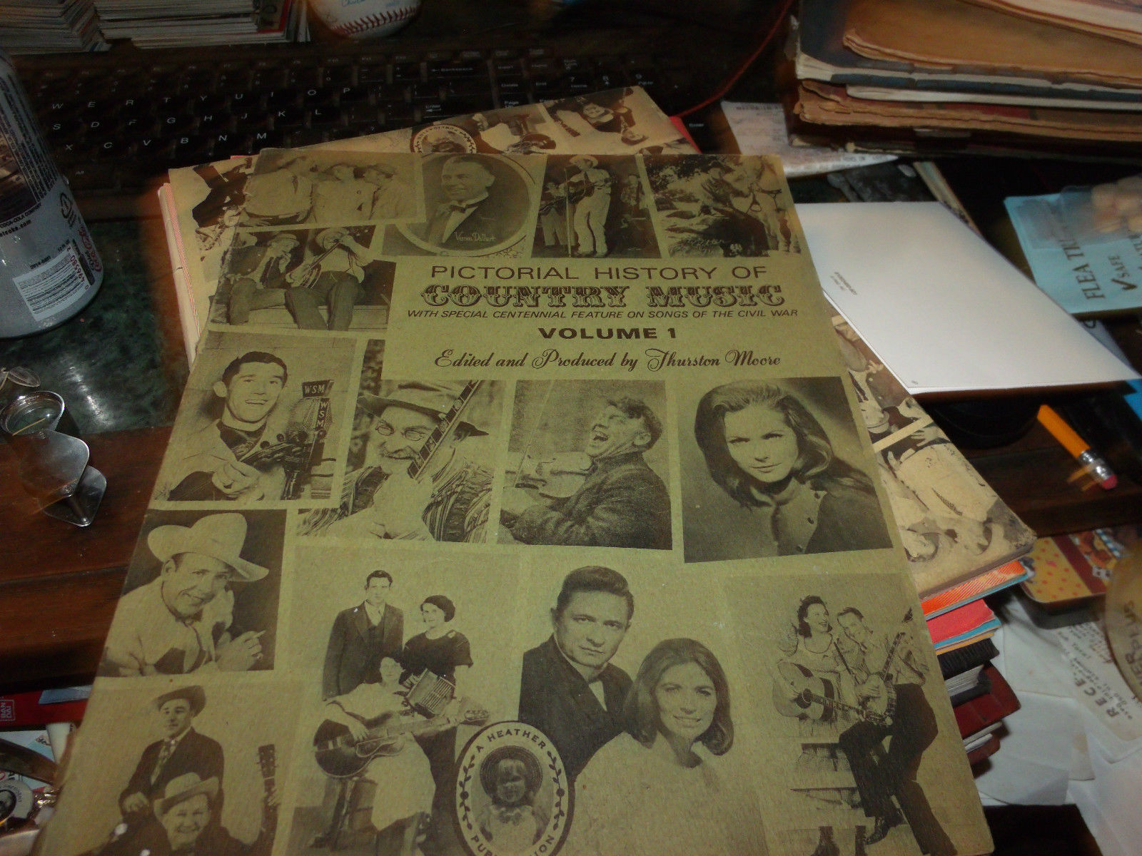 Pictorial History of Country Music VOL 1 & 2 SOFTCOVER 1969