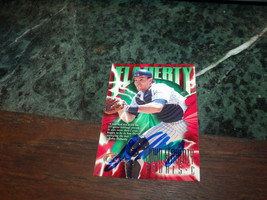 JOHN FLAHERTY HAND SIGNED 1997 FLEER CIRCA  BASEBALL CARD PADRES - $4.20