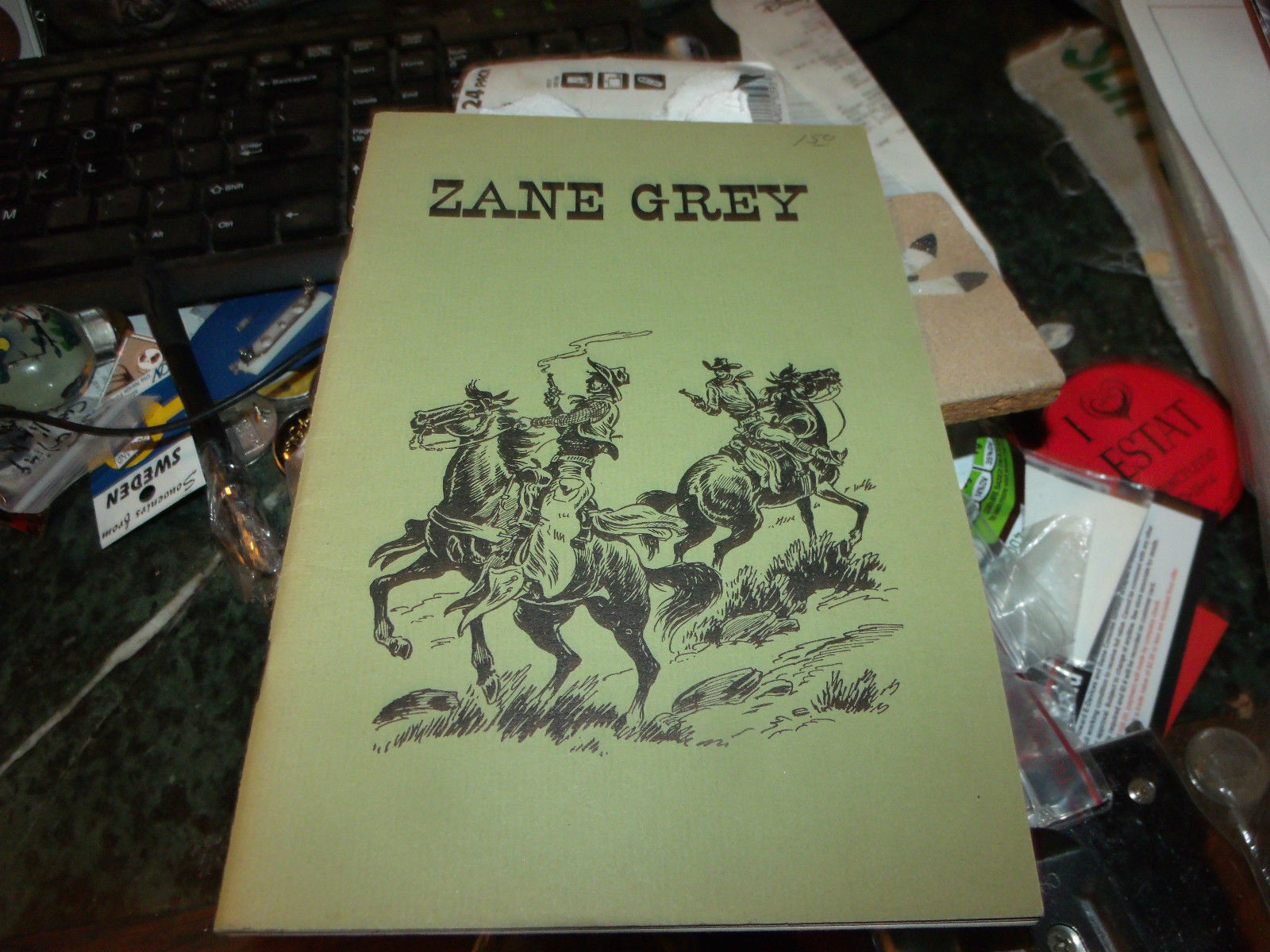 ZANE GREY BY NORRIS F SCHNEIDER 1967 3RD PRINTING SOFTCOVER